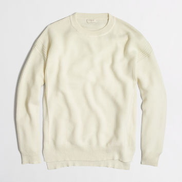Factory cobble-stitch sweater