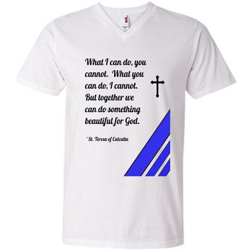 Saint Mother Teresa Quote T-Shirt