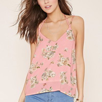 Strappy Floral Cami | Forever 21 - 2000170079