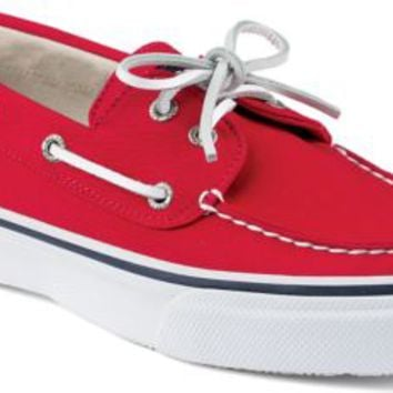 Sperry Top-Sider Bahama Varsity 2-Eye Boat Shoe Red, Size 9.5M  Men's