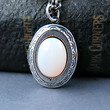 Opal Antique Silver Locket