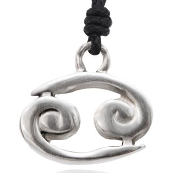 Astrology Silver Pewter Charm Necklace Pendant Jewelry