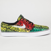Nike Sb Zoom Stefan Janoski Mens Shoes Challenge Red/Lucid Green  In Sizes