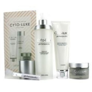 Cyto-luxe Collection (limited Edition): Body Lotion + Cleanser + Mask + Mask Applicator --4pcs
