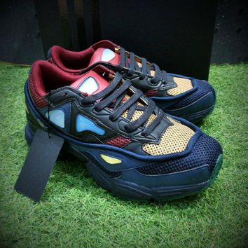 Sale Raf Simons x Adidas Consortium Ozweego 2 III Retro Sport Smart Running Shoes Grey Blue Red Trainers Shoes B26077