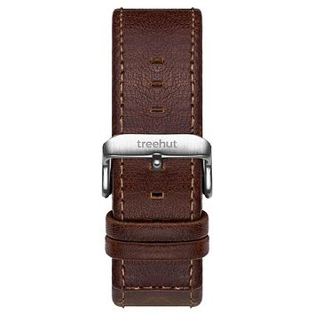 20mm Chestnut Brown Leather Band