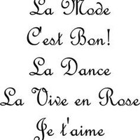 La Mode - C'est Bon! - La Dance - La Vive en Rose - Tank Top