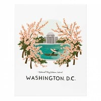 Washington D.C. Art Print by RIFLE PAPER Co. | Made in USA