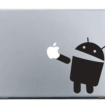Android mac sticker mac macbook decal mac decal by AppleParadise