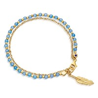 Astley Clarke Feather Biography Bracelet | Nordstrom