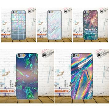 Diwqxr TPU Mobile Cases Covers For Apple iPhone X 4 4S 5 5C SE 6 6S 7 8 Plus For LG G4 G5 G6 K4 K7 K8 K10 Holographic Tumblr