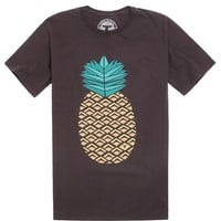 Topo Ranch Pineapple Crew T-Shirt - Mens Tee - Black -