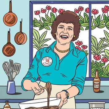 Happy Mother's Day Julia Child Card