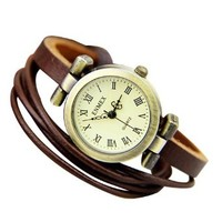 Vintage Rivet Leather Watch
