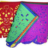Tissue-Paper Banners (Papel Picado)