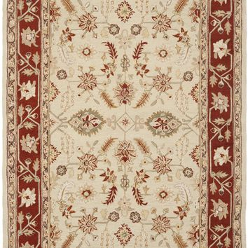 Chelsea Country & Floral Indoor Area Rug Ivory / Rust