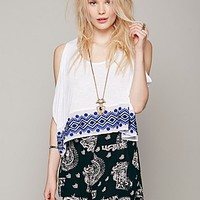 Free People Womens Monsoon Memories Top -
