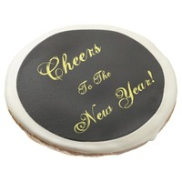 Cheers to the New Year! Sugar Cookies