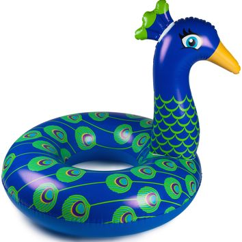 Giant Peacock Pool Float