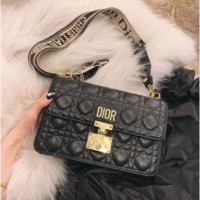 Dior Flipped Chain Bag Single Shoulder Slant Bag for Women