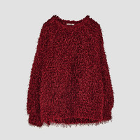 OVERSIZE FURRY SWEATERDETAILS