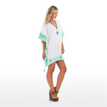 Mini kaftan White Tie&dye