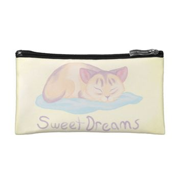 Dreaming Kitten Cosmetic Bag