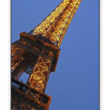 The Amazing Paris Eiffel Tower iPhone 4 Quality Hard Snap On Case for iPhone 4 4S 4G - AT&T Sprint Verizon - Black Frame