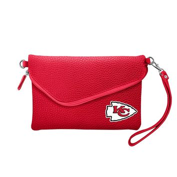 Kansas City Chiefs Tailgate Pebble Purse