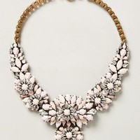 Birch Harbor Bib Necklace by Shourouk White One Size Necklaces