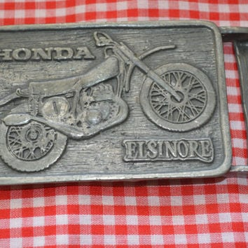 Vintage Honda Elsinore Belt Buckle 1970's