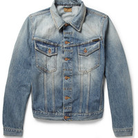 Nudie Jeans - Perry Organic Washed-Denim Jacket | MR PORTER