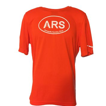 Men's Brooks ARS Technical T-Shirt - Hi Vis Orange