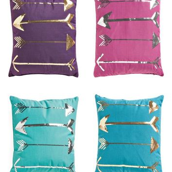 Thro by Marlo Lorenz Sequin Boho Arrow Pillows