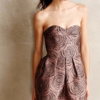 NWT ANTHROPOLOGIE by HUTCH CANDY ROSE JACQUARD DRESS