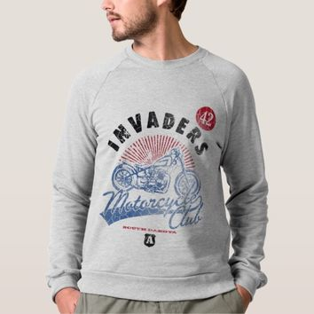 Vintage, Invaders Motorcycle Club, Sweatshirt