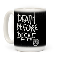 Death Before Decaf | T-Shirts, Tank Tops, Sweatshirts and Hoodies | HUMAN