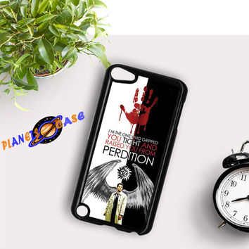 Supernatural perdition split iPod Touch 6 Case Planetscase.com