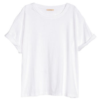 H&M Top in Slub Jersey $12.99