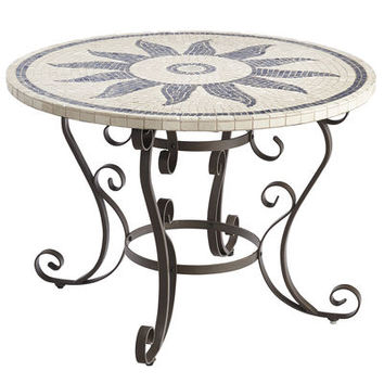 "Esenia 43"" Mosaic Round Dining Table"