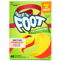 Fruit By The Foot, 48 ct, Strawberry + Berry Flavors