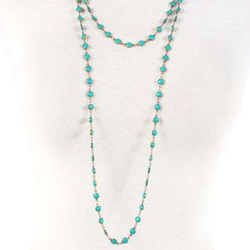 The Brittany Necklace - Turquoise
