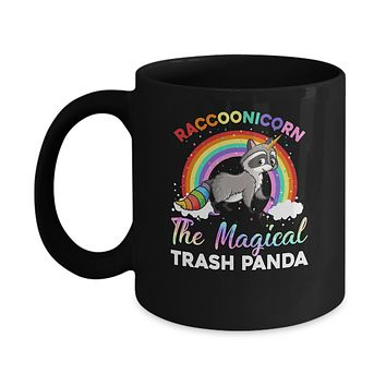 Racoonicorn Raccoon Unicorn Trash Panda For Kid Girls Mug