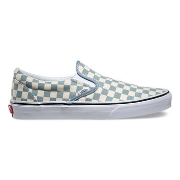 Checkerboard Slip On | Shop Classic Shoes at Vans