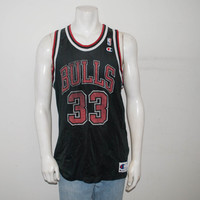 Champion #33 Pippen Chicago Bulls Jersey Size 48