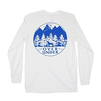 Mountain Lab Long Sleeve Tee in White by Over Under Clothing - FINAL SALE