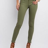"REFUGE ""SKIN TIGHT LEGGING"" COLORED JEANS"