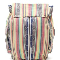 Billabong Indian Surf Tribal Print School Backpack - Womens Handbags
