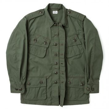 THE REAL MCCOY'S JUNGLE FATIGUE JACKET - OLIVE DRAB