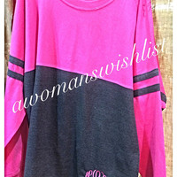 Monogram and Personalized Oversize Spirit Jersey